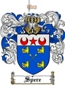 Thumbnail Spere Family Crest  Spere Coat of Arms