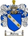 Thumbnail Spivey Family Crest  Spivey Coat of Arms Digital Download