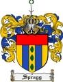 Thumbnail Spragg Family Crest  Spragg Coat of Arms