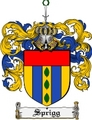 Thumbnail Sprigg Family Crest  Sprigg Coat of Arms