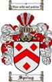 Thumbnail Spring Family Crest  Spring Coat of Arms