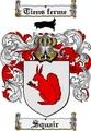 Thumbnail Squair Family Crest  Squair Coat of Arms