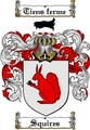 Thumbnail Squires Family Crest  Squires Coat of Arms