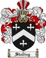 Thumbnail Stalling Family Crest  Stalling Coat of Arms
