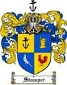 Thumbnail Stamper Family Crest  Stamper Coat of Arms