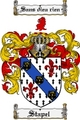 Thumbnail Stapel Family Crest  Stapel Coat of Arms