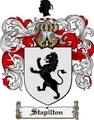 Thumbnail Stapilton Family Crest  Stapilton Coat of Arms