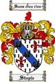 Thumbnail Staple Family Crest  Staple Coat of Arms