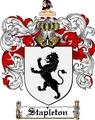 Thumbnail Stapleton Family Crest  Stapleton Coat of Arms
