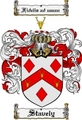 Thumbnail Stavely Family Crest  Stavely Coat of Arms