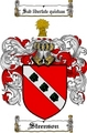 Thumbnail Steenson Family Crest  Steenson Coat of Arms