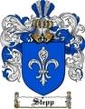 Thumbnail Stepp Family Crest  Stepp Coat of Arms