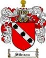 Thumbnail Stinson Family Crest  Stinson Coat of Arms