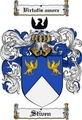 Thumbnail Stiven Family Crest  Stiven Coat of Arms