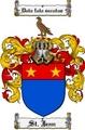 Thumbnail Stjean Family Crest  Stjean Coat of Arms