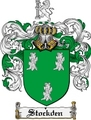 Thumbnail Stockden Family Crest  Stockden Coat of Arms