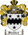 Thumbnail Stoddart Family Crest  Stoddart Coat of Arms