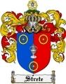 Thumbnail Strete Family Crest  Strete Coat of Arms