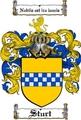 Thumbnail Sturt Family Crest  Sturt Coat of Arms