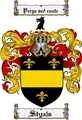 Thumbnail Styals Family Crest  Styals Coat of Arms