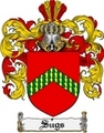 Thumbnail Sugs Family Crest  Sugs Coat of Arms