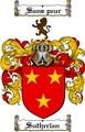 Thumbnail Sutherlan Family Crest  Sutherlan Coat of Arms