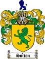 Thumbnail Sutton Family Crest / Sutton Coat of Arms