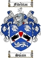 Thumbnail Swain Family Crest  Swain Coat of Arms