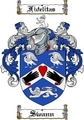 Thumbnail Swann Family Crest  Swann Coat of Arms