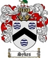 Thumbnail Sykes Family Crest  Sykes Coat of Arms