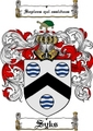 Thumbnail Syks Family Crest  Syks Coat of Arms
