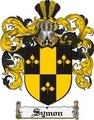 Thumbnail Symon Family Crest  Symon Coat of Arms