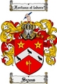 Thumbnail Syms Family Crest  Syms Coat of Arms