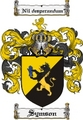 Thumbnail Symson Family Crest  Symson Coat of Arms