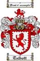 Thumbnail Talbott Family Crest  Talbott Coat of Arms