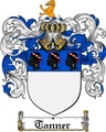Thumbnail Tanner Family Crest  Tanner Coat of Arms