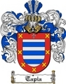 Thumbnail Tapia Family Crest  Tapia Coat of Arms