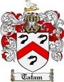 Thumbnail Tatam Family Crest  Tatam Coat of Arms