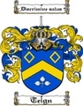 Thumbnail Teign Family Crest  Teign Coat of Arms