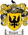 Thumbnail Tempell Family Crest  Tempell Coat of Arms