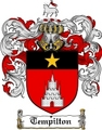 Thumbnail Tempilton Family Crest  Tempilton Coat of Arms