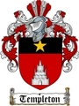 Thumbnail Templeton Family Crest / Templeton Coat of Arms