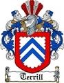Thumbnail Terrill Family Crest  Terrill Coat of Arms