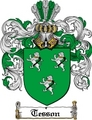 Thumbnail Tesson Family Crest  Tesson Coat of Arms