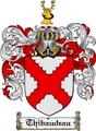 Thumbnail Thibaudeau Family Crest  Thibaudeau Coat of Arms