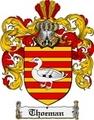Thumbnail Thoeman Family Crest  Thoeman Coat of Arms