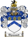 Thumbnail Thomasett Family Crest  Thomasett Coat of Arms