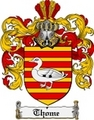 Thumbnail Thome Family Crest  Thome Coat of Arms