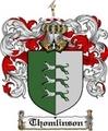 Thumbnail Thomlinson Family Crest  Thomlinson Coat of Arms