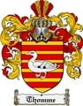 Thumbnail Thomme Family Crest  Thomme Coat of Arms